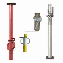 adjustable steel support post / adjustable steel props scaffolding for construction