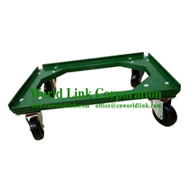 "4"" Strong Wheels ABS Plastic Moving Dolly for Container"