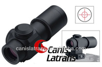 1x14 Tactical Prismatic Style Rifle Scope Sight Riflescope w/ Illuminated Red Circle Plex Reticle