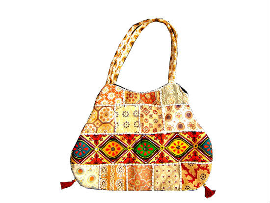 Embrodery hand bag