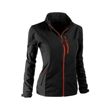Fashion Style polyester embroidery woman foldable windbreaker