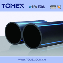 2016 wholesales china pipe manufacture 100mm hdpe pipe pn16