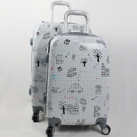 Trolley Luggage Bags Cases With Cover