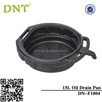 15L plastic oil drain pan for repair cars /manufacture/professional high quality auto repair tools