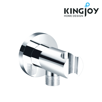 Solid brass faucet accessory brass shower holder with outlet