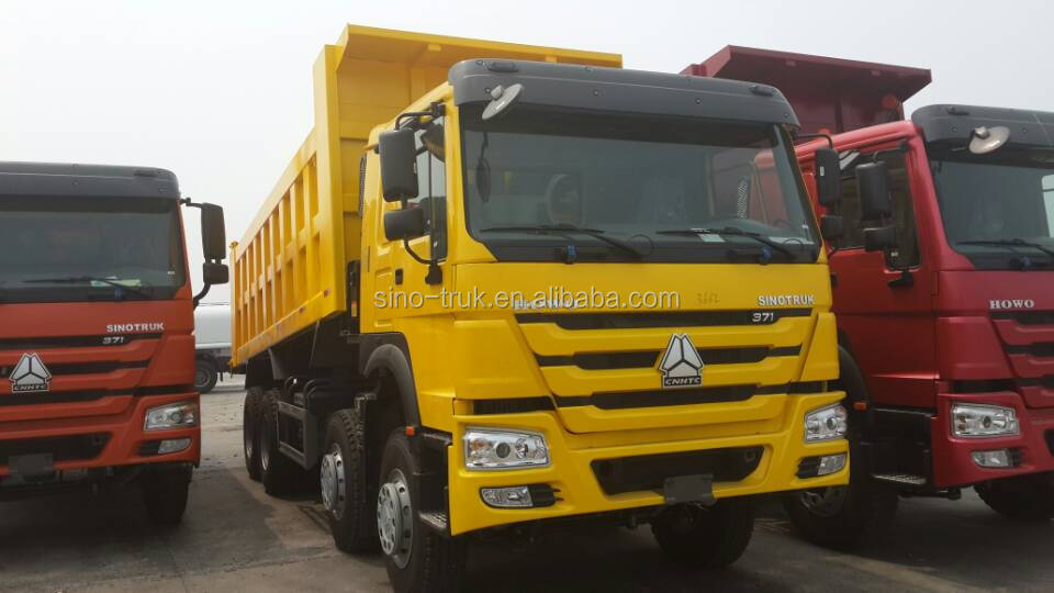 low price howo 12-wheel dump truck for sale