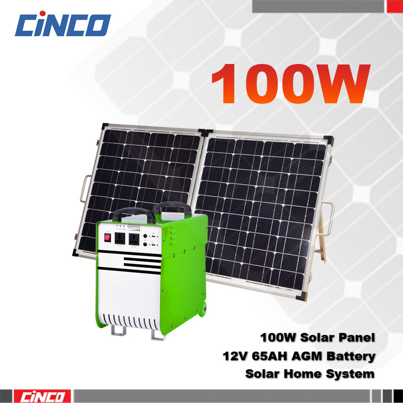 Portable solar panel 100 watt home energy for saver