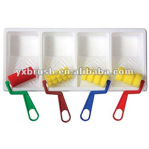 enfants jouet ponge rouleau de peinture brosse id de produit 542186990. Black Bedroom Furniture Sets. Home Design Ideas