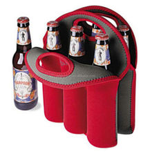 heat isolate neoprene cloth made beer pouch