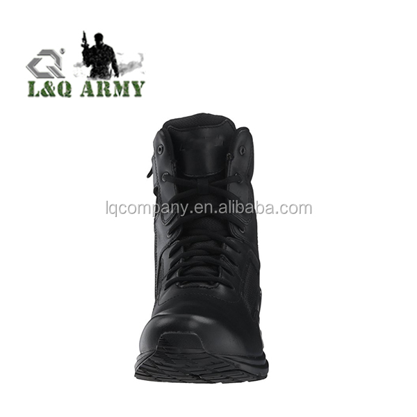 Men's Hot Weather Side Zip Military Tactical Boot