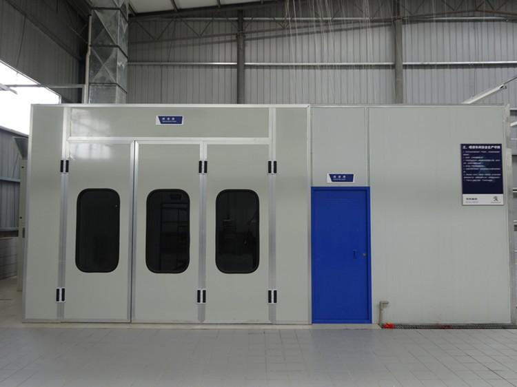 Customized workshop large spray booth