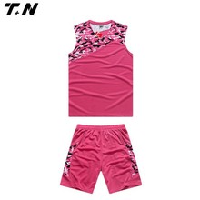 new best pink women uniform basketball designed