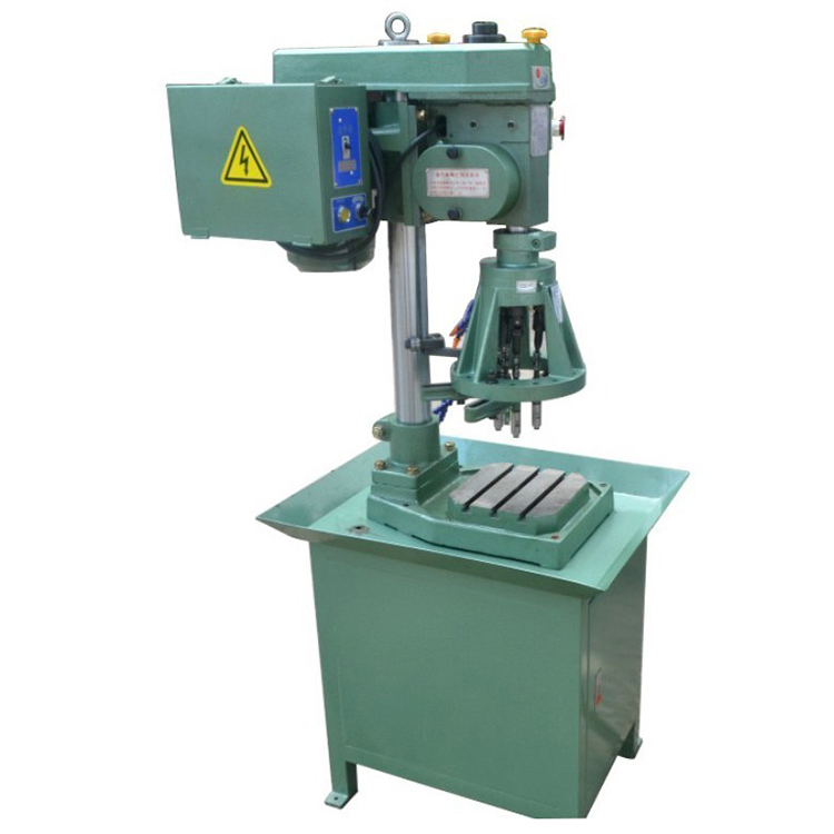 tapping machine with rotary table index plate