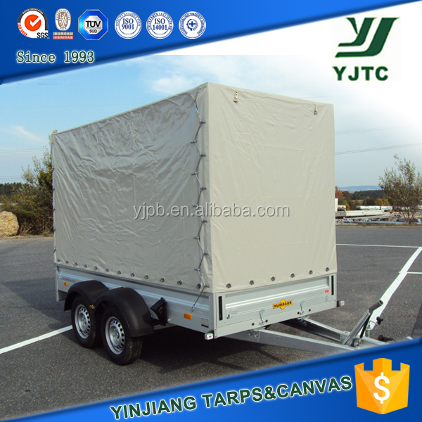 Fire Retardant PVC Coated Polyester Fabric,PVC TARP COVER.Trailer cover.