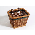 wicker Hot sale bike baskets,custom size wicker basket,black wicker baskets
