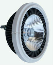 hot sale 15w ar111 g53 led with Ra>90, with sharp, nichia and epistar chip