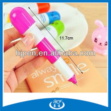 From China Plastic Cheap Best Writing Pill Ballpoint Pen