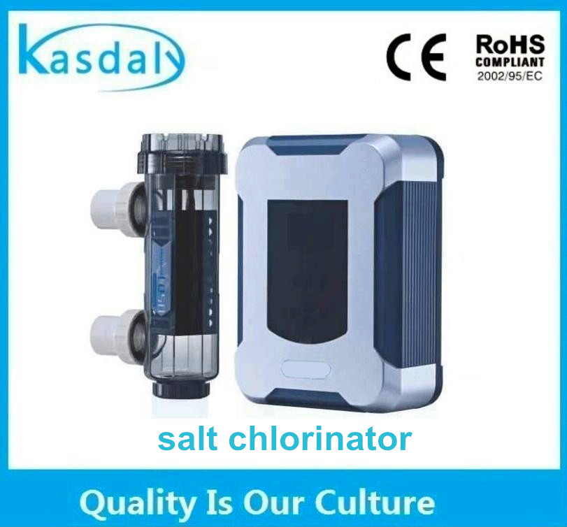 titanium electrode salt water salt chlorinator cell for swimming pool disinfection