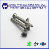 Indoor application decorative white painted head fastening screws