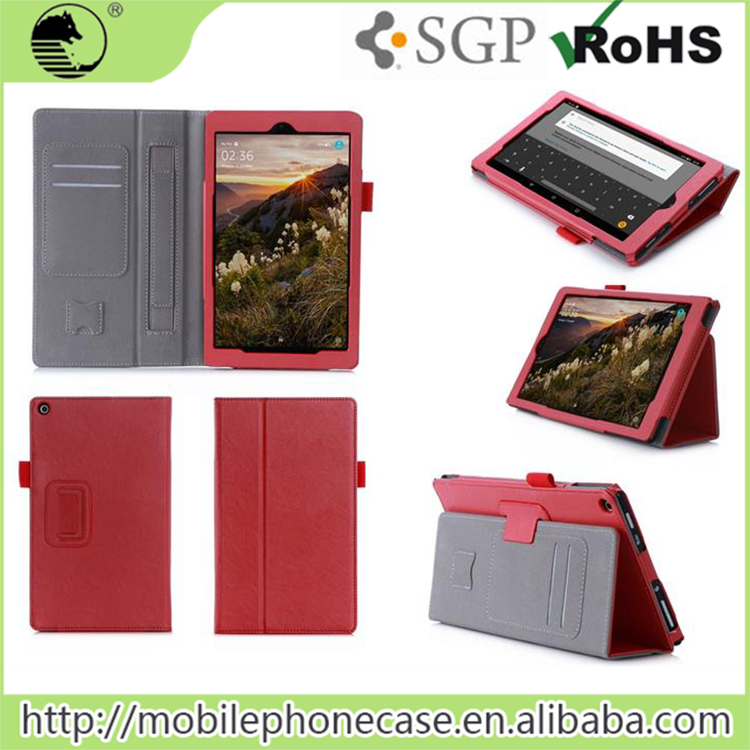 Factory Suppliers High Quality Flip Tablet Case For Amazon Kindle Fire HD 8