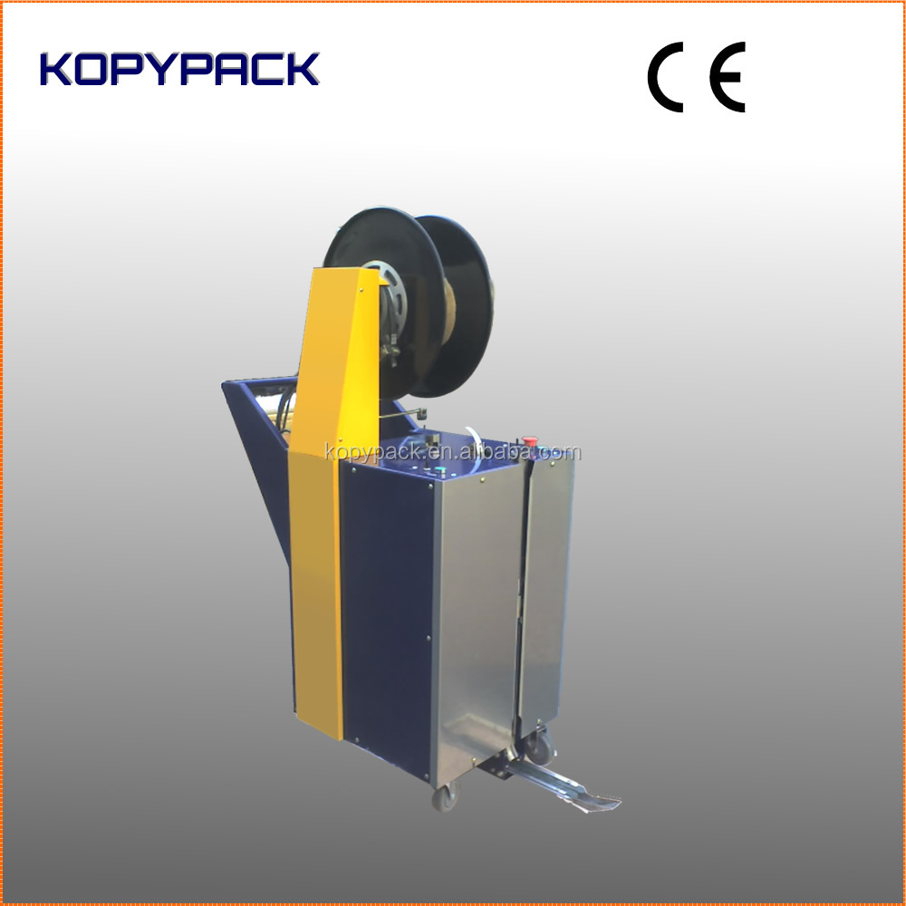 KOPY STP-500 Semi-automatic PP strip cardboard box bunding machine