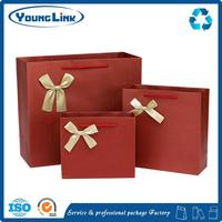 Recycle eco brown craft bread grocery paper bag with window