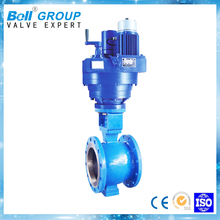 PN40 DN25 Electric direct through double union ball valve for water