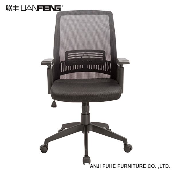 Latest models design durable parts office swivel chair with nylon base