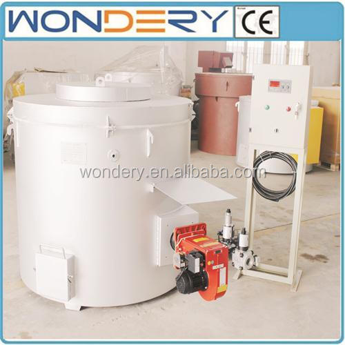Quality Aluminum Scrap Oil Fired Crucible Melting Furnace