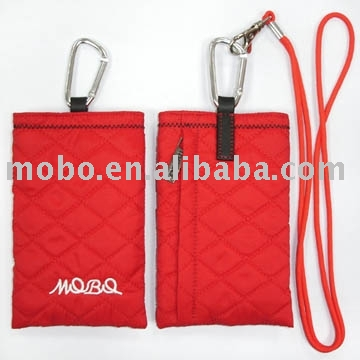 Phone pouch, mobile phone pouch in universal style