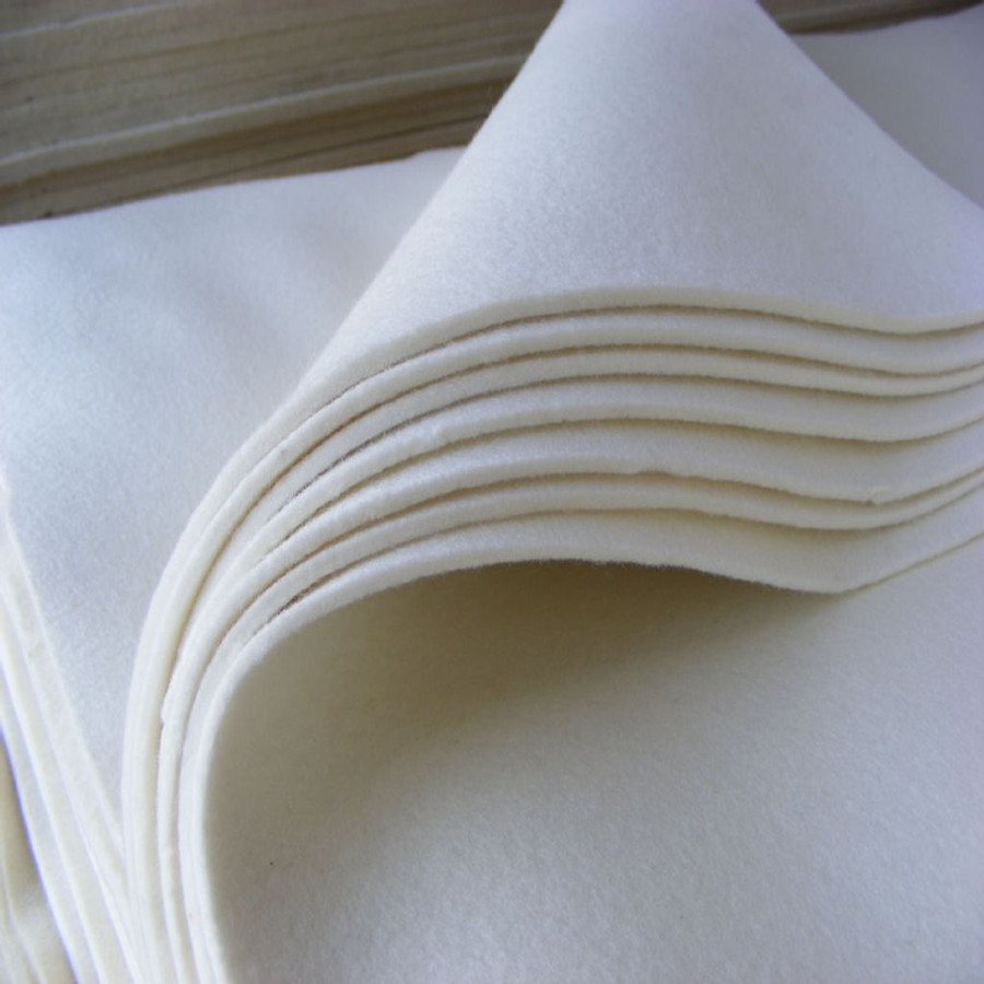 china factory supply 100% pure industrial wool felt