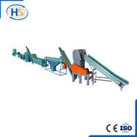 Extruder Machine Plastic Recycling Plant For PET Bottle
