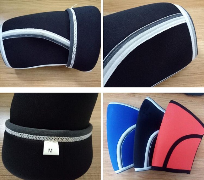 High Quality Custom orthopedic 7mm 5mm Sports Gym neoprene knee support brace