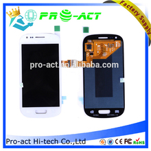 Phone parts lcd digitizer for samsung galaxy s3 mini i8190 lcd with frame made in china