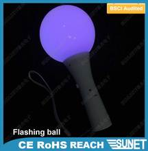 wedding souvenirs plastic multi-colored light moon ball