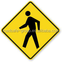 Highly Reflective Traffic Safety Driving Sign