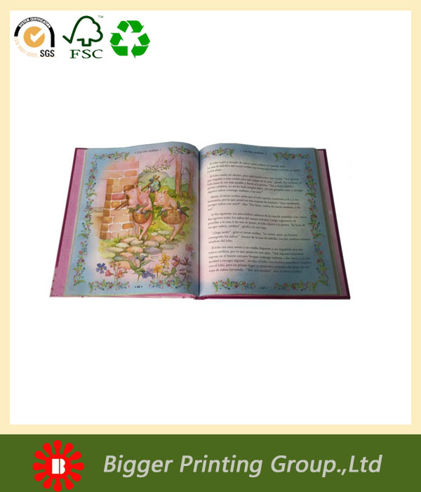 Top quality childrens books oem, chinese paperback book for kids