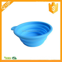 Durable Pet Dog Portable Silicone Collapsible Feeding Bowl Food Water Container Dish Feeder for Outdoor Travel Camping