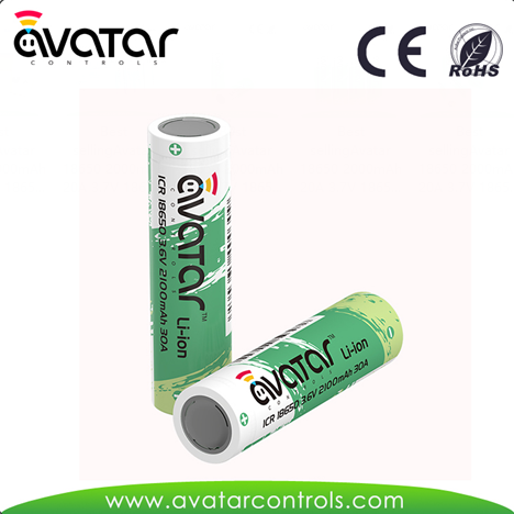 Avatar Rechargeable Lithium ion Battery 18650 li ion Battery 18650 Battery 30A