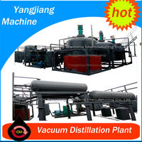 Waste Oil Treatment Plant for Base Oil from Used Motor Engine Oil