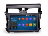 Cheap 10.2 Inch Black Colored High quality 4x50W Surround Stereo car gps dvd player for Nissan Teana 2013 2015