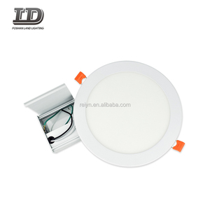 8-inch dimmable slim round led downlight,flat led panel light18w