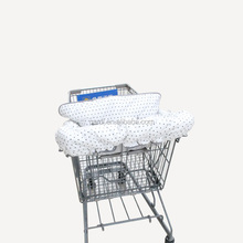 wholesale popular newborn gift shopping cart cover and highchair cover for baby Great Christmas Gift Ideas for Mom