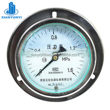 panel SS oil filled pressure gauge