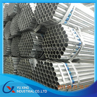 green house Hot dipped Galvanized Steel Pipe / Tube made in tianjin china