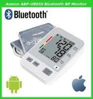 Bluetooth 4.0 Digital Blood Pressure Monitor for IOS&Andriod with Pulse Oximeter