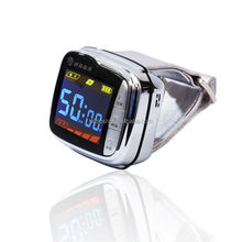 High tech wrist watch type treatment cardiovascular and cerebrovascular diseases acupuncture point detector reduce blood sugar
