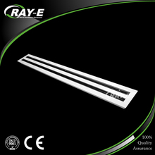 adjustable ceiling stainless steel vent grille linear slot air diffuser for HVAC system