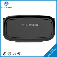 OEM Factory Virtual Reality VR Box 3d Glasses 1st Generation VR Shinecon 3d Glasses with Bluetooth