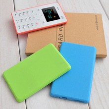slim and small mobile phones card size mobile phone m5